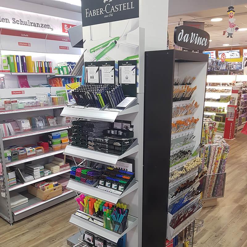 Tibarg Center Shopbild Hartfelder Basteln und Schreiben Pinsel und Stifte